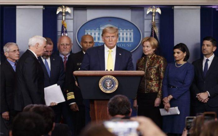 El coronavirus provocará entre 100.000 y 240.000 muertes en EE UU, según las proyecciones de la Casa Blanca