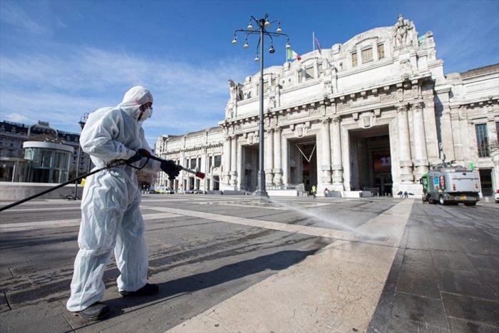 Italia festeja baja en número de pacientes graves por coronavirus