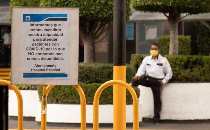 Principales hospitales de CDMX alcanzan límite de capacidad