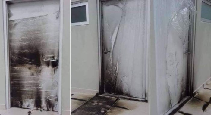 Incendian hospital en NL por temor a que propague Covid-19