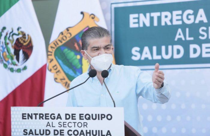 AGRADECE Y RECONOCE MARS TRABAJO DEL PERSONAL DEL SECTOR SALUD EN COAHUILA