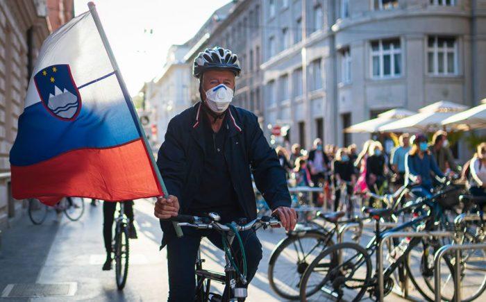 Eslovenia,  declara el fin de su epidemia de coronavirus reabrira sus fronteras