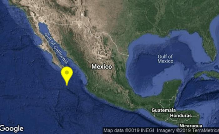 Se registra sismo de 6.1 en Baja California Sur