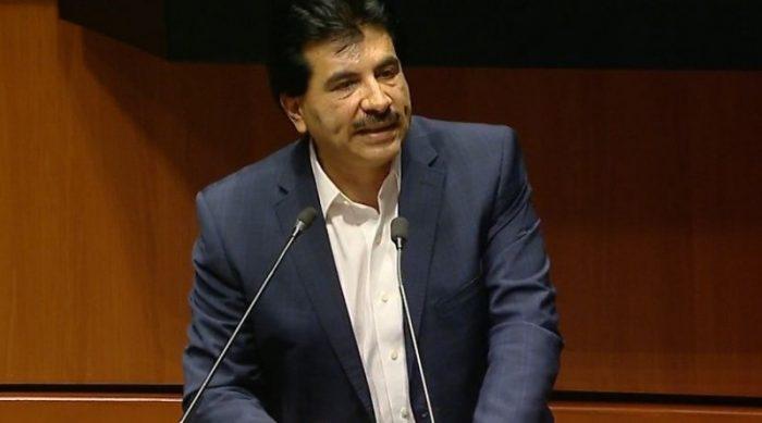 José Ramón Enríquez abandona bancada en el Senado de MC y se pasa a Morena