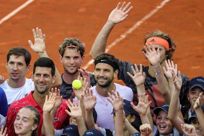 Novak Djokovic tiene coronavirus tras organizar un torneo