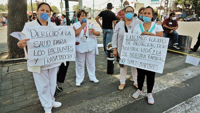 Federación aún sin dotar de equipo suficiente a personal de Salud