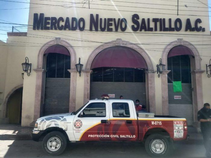 Clausuran Mercado Nuevo Saltillo por violar protocolos del Covid-19