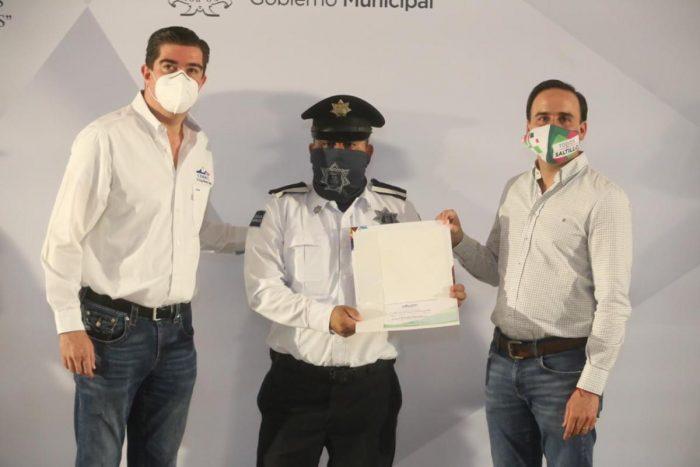 Manolo reafirma compromiso de la policía de Saltillo con los Derechos Humanos