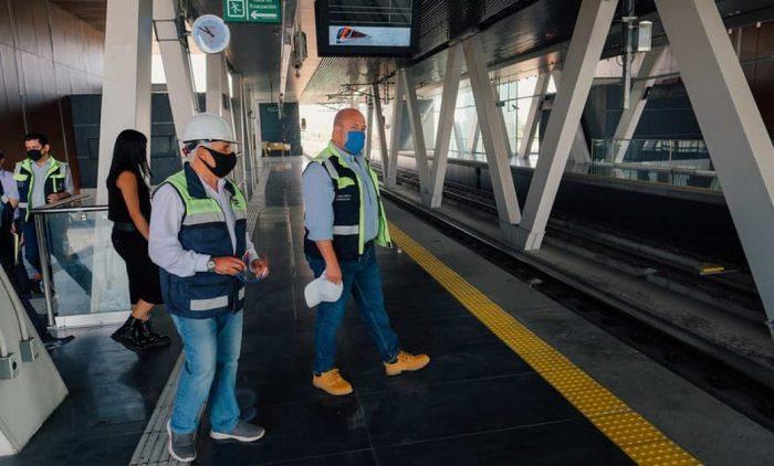 Presenta Enrique Alfaro  #Lineatres del tren ligero