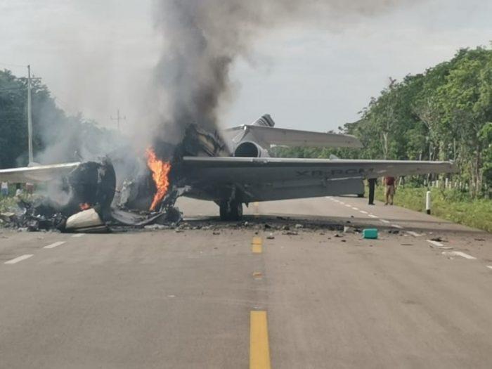 Se desploma aeronave en zona Maya de Quintana Roo; autoridades buscan a tripulantes