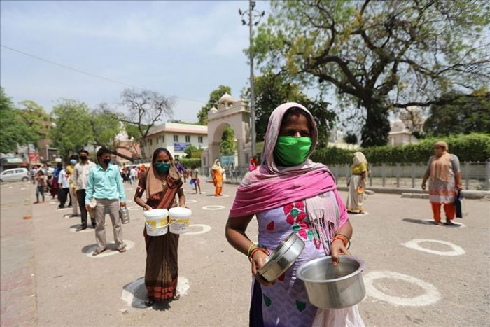 India suma un millón de casos de Covid-19; podría convertirse en foco de pandemia
