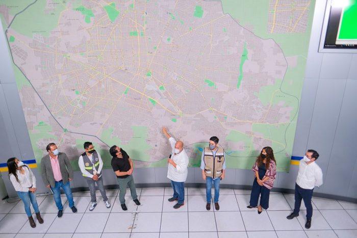 Presenta Enrique Alfaro #Siga  el nuevo Sistema Inteligente de Gestión de la Movilidad.