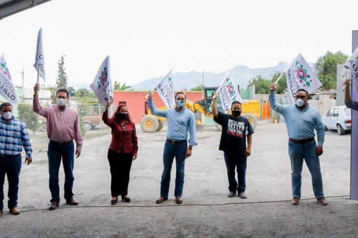 Arranca Manolo obras en las colonias Niños Héroes y San Nicolásde los Berros