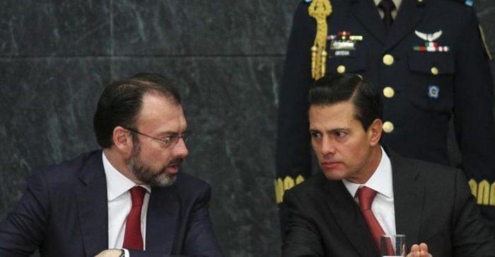 Lozoya denuncia ante la FGR a Peña Nieto y Videgaray por usar sobornos de Odebrecht