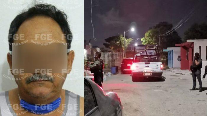 Rescataron a cuatro menores de edad tras el arresto de un productor de pornografía infantil en Quintana Roo