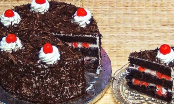 Delicioso tradicional pastel Selva Negra, preparalo ya¡¡¡