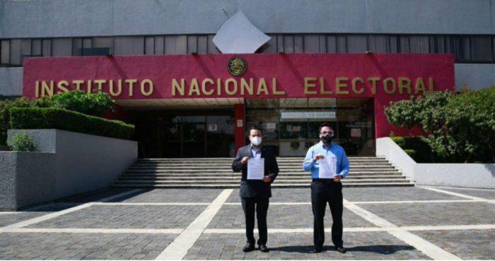 PAN denuncia ante el INE a Morena, David León y Pío López Obrador