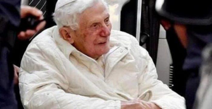 Papa emérito Benedicto XVI, grave de salud