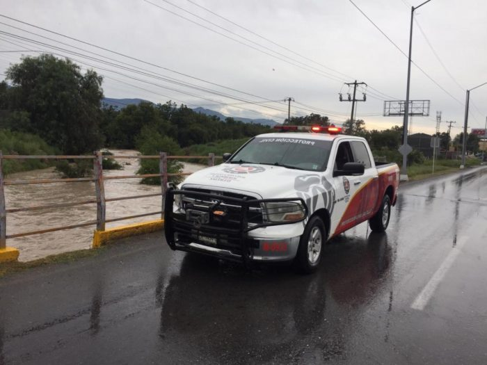 Gobierno Municipal exhorta a la población a reforzar medidas de precaución por lluvias