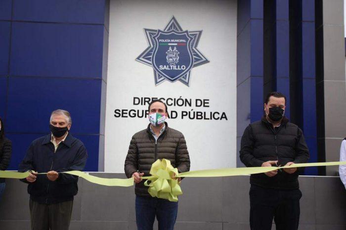 Modernizan instalaciones de la Policía Municipal de Saltillo