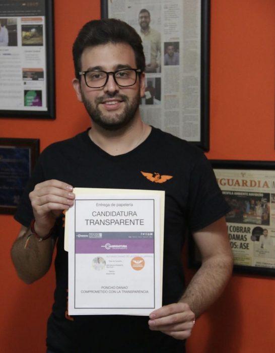 PONCHO DANAO COMPROMETIDO CON LA TRANSPARENCIA.