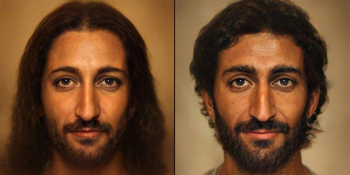 Así sería el verdadero rostro de Jesús, según una foto creada con inteligencia artifificial