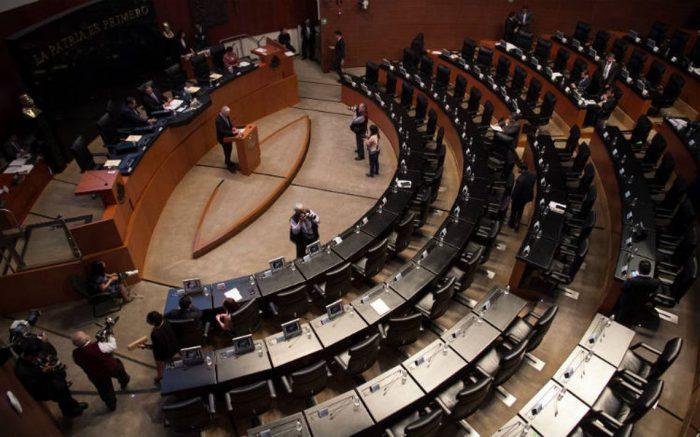 84 personas en el Senado dan positivo a Covid-19