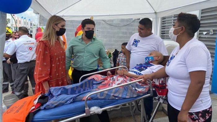 Samuel García donará 250 mil pesos para quimioterapias de niños con cáncer