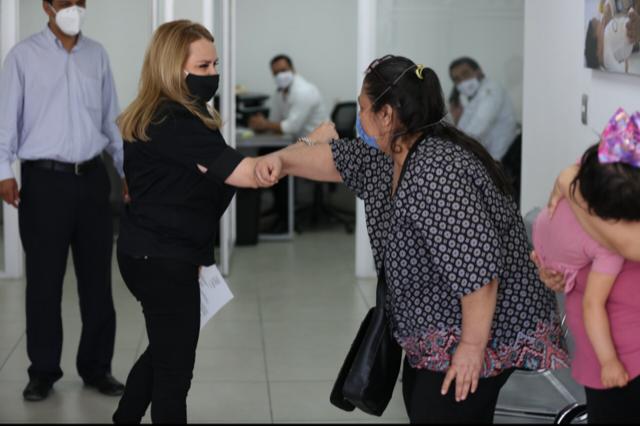 PRÓTESIS DEL DIF COAHUILA MEJORAN CALIDAD DE VIDA A PERSONAS CON DISCAPACIDAD: MARCELA GORGÓN