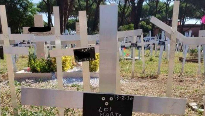 Encuentran cementerio de fetos en Roma; fueron enterrados sin permiso de las mujeres
