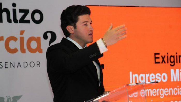Samuel García respalda salida de Nuevo León del pacto federal
