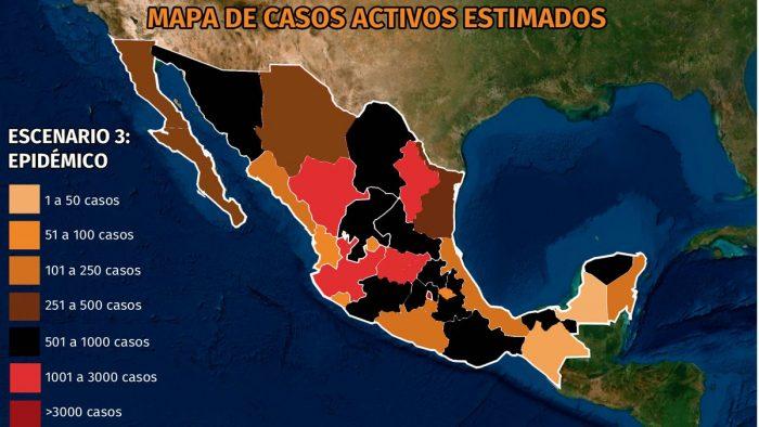 Mapa del coronavirus en México 22 de noviembre: Hidalgo, Querétaro y Chihuahua encabezan brotes en el país