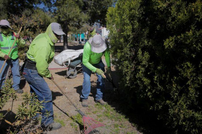 Acciones de limpieza en Saltillo no se detienen pese a pandemia
