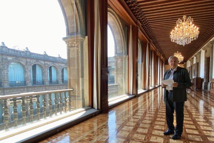 En Palacio Nacional tienen a una empresa de outsourcing para servicios de limpieza