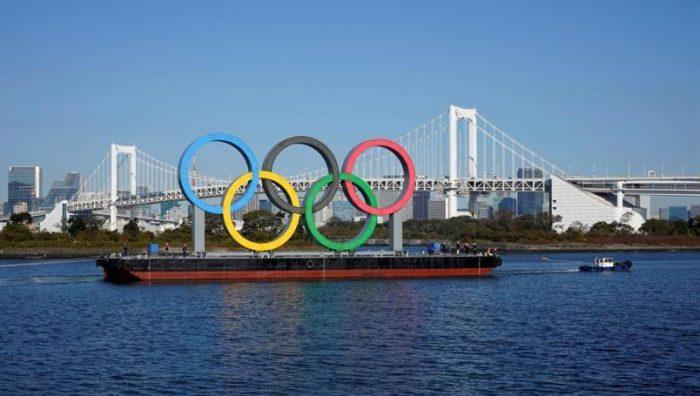 Vuelven los aros olímpicos a la Bahía de Tokio