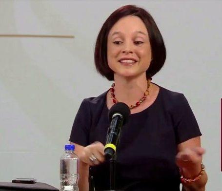 Galia Borja Gómez  al Banco de México