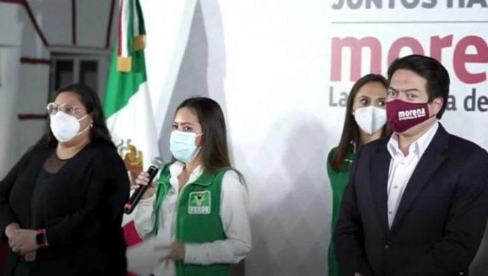 """Morena presenta alianza """"Juntos Hacemos Historia"""" con PT y PVEM"""