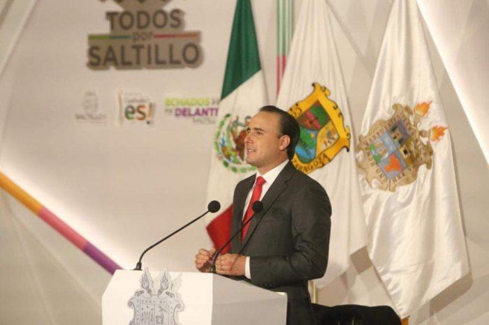 Echados pa' Delante Saltillo, presenta Manolo Jiménez 3er Informe Ciudadano