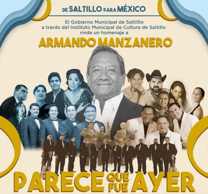 Rendirá IMCS homenaje musical a Armando Manzanero