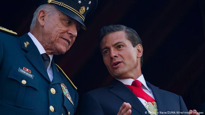 Difunden el expediente contra Salvador Cienfuegos de la DEA