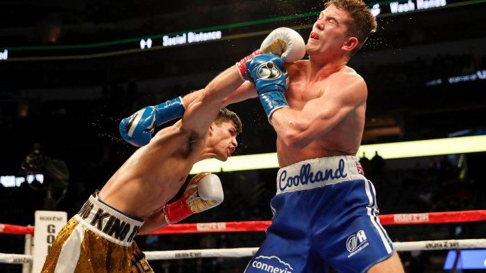 Ryan García gana título mundial de peso ligero en el American Airlines Center de Dallas