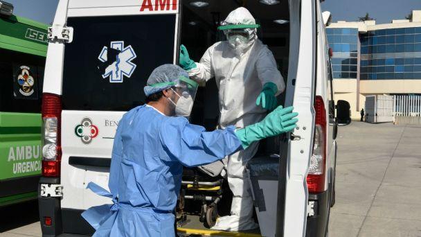 Paciente con nueva cepa de Covid-19 está intubado en Tamaulipas