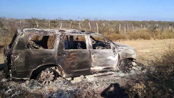 Hallan 19 cuerpos calcinados tras reporte de enfrentamiento en límites de Tamaulipas y NL
