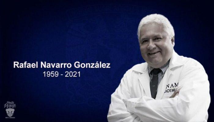 Rafael Navarro, químico de la UNAM, muere a los 61 años