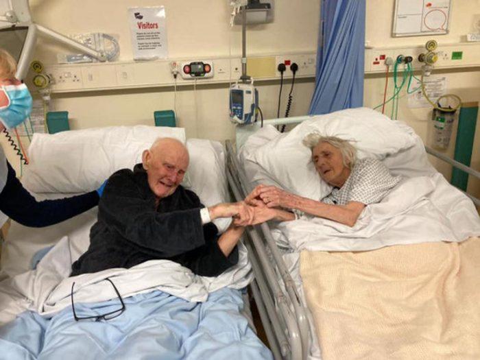 Estuvieron casados 70 años y murieron de COVID-19 en el mismo hospital