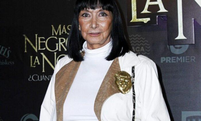 Murió la actriz Lucía Guilmáin a los 83 años