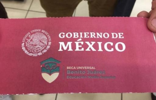 Anuncian fecha límite para cobro de becas Benito Juárez