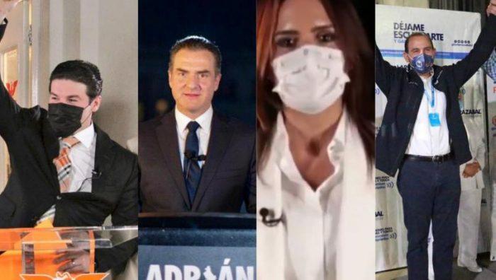 Candidatos a gubernatura de Nuevo León arrancan campañas