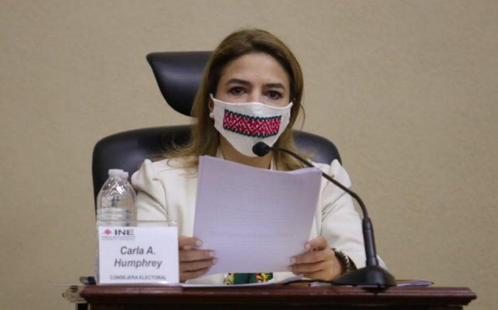 Para Consejera del INE No puede ser candidato quien ejerce violencia política de género