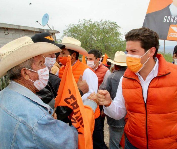 Samuel García se ubica en primer lugar en encuesta de Nuevo León